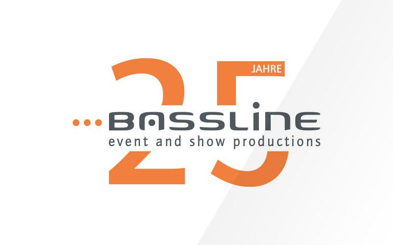 Bassline 25 Jahre Logo