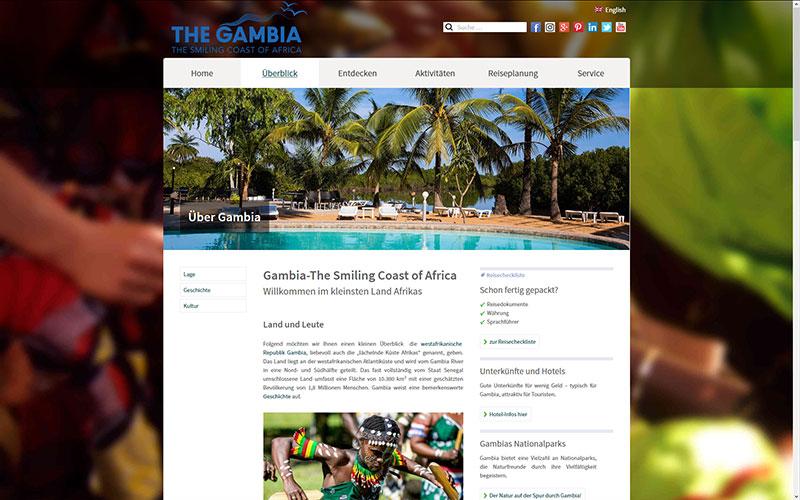 Gambia Website