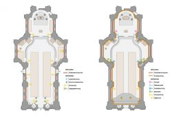 dot-spot Beleuchtungsplan Kirche